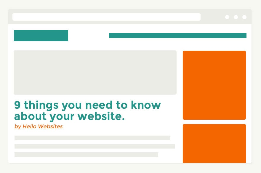Things You Need To Know About Your Webite