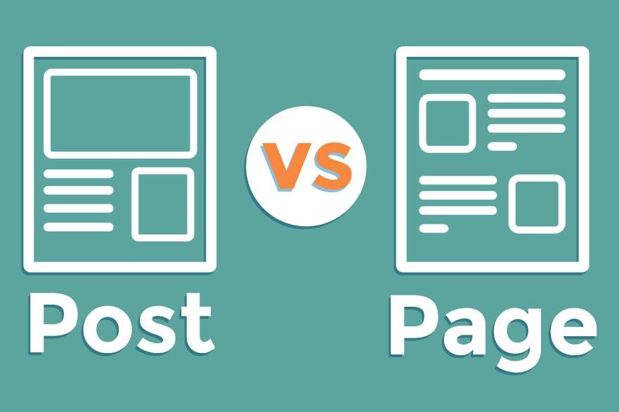 Post Vs. Page