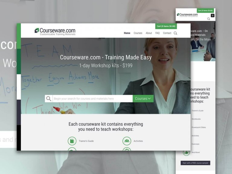 Courseware Website Photo