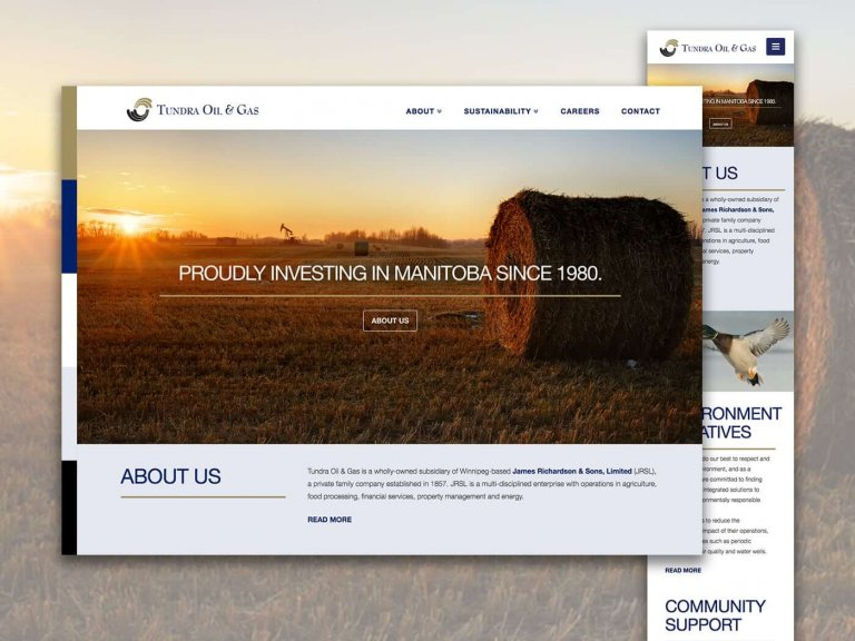 Tundra Oil & Gas Website Photo