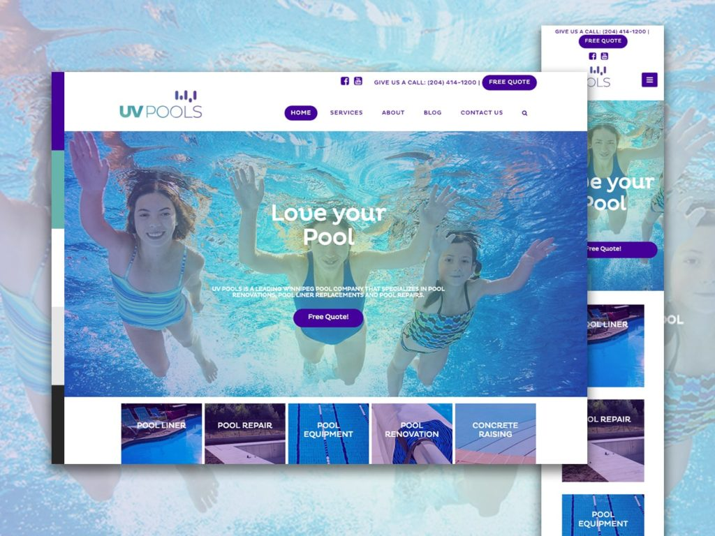 UV Pools Krevco Website Photo