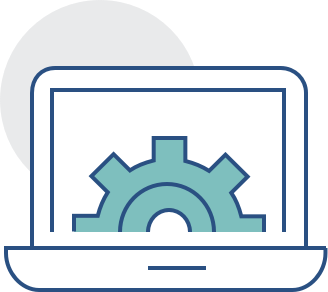Website Design Gear Wheel Icon