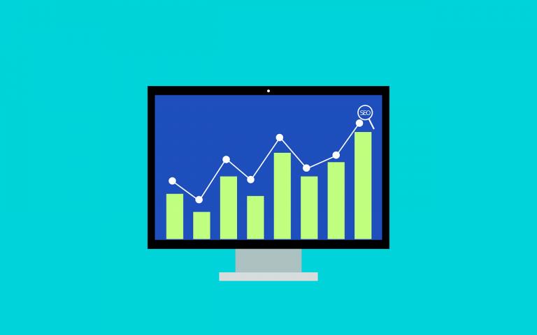 web analytics on a computer